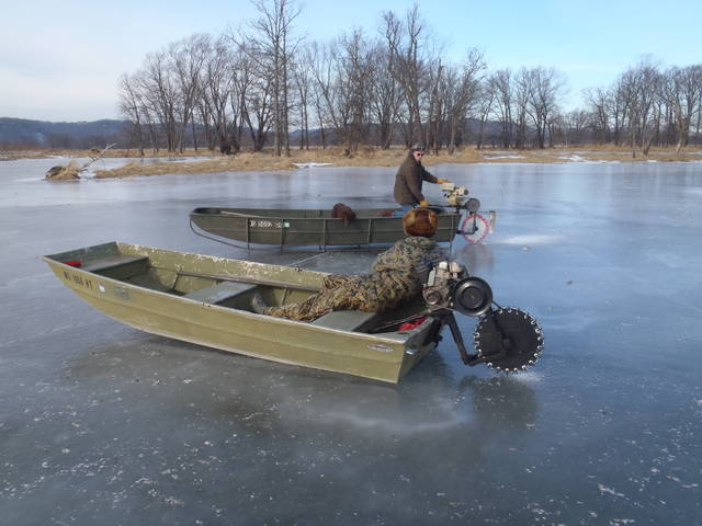 Hmb while i use this chainsaw to ice skate for Ice scratcher boat motor for sale