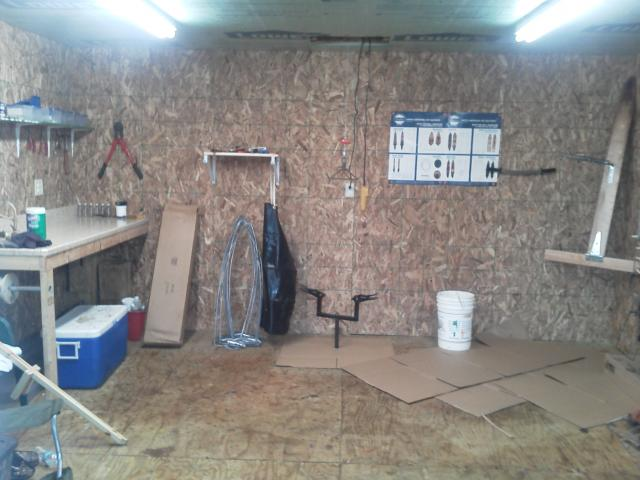 Trapping shed pictures design