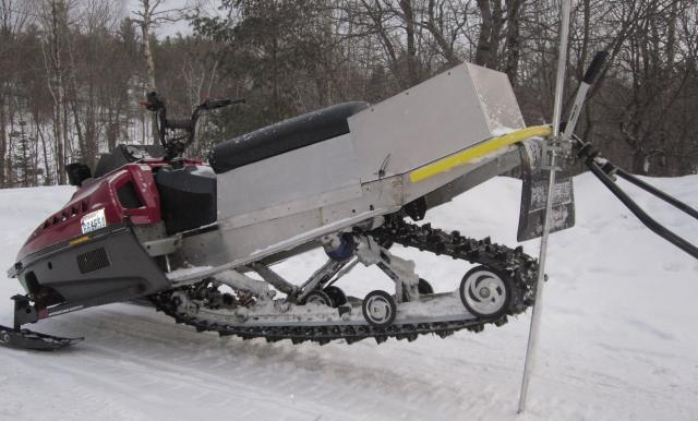 Deep Snow Snowmobile Mods Trapperman Forums