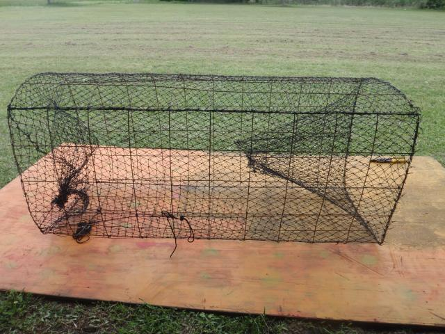 Hoop nets trapper talk forums for Homemade fish traps