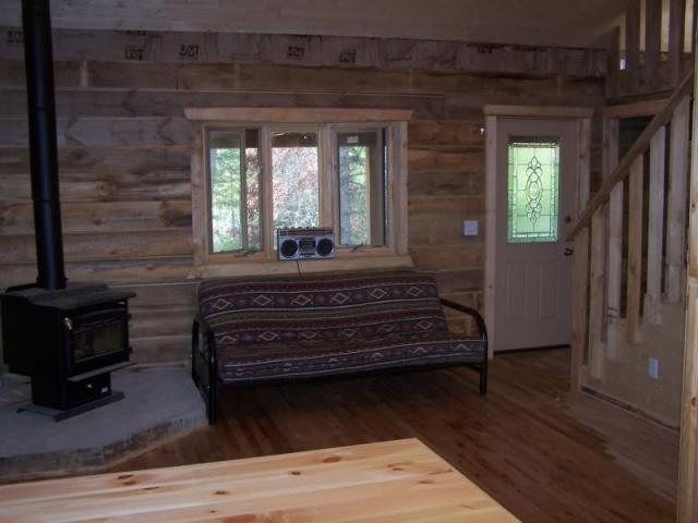 Building your own cabin trapper talk forums for Stick built cabin plans