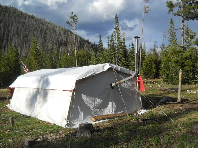 & anyone ever built a tent stove? | Trapper Talk | Trapperman.com Forums