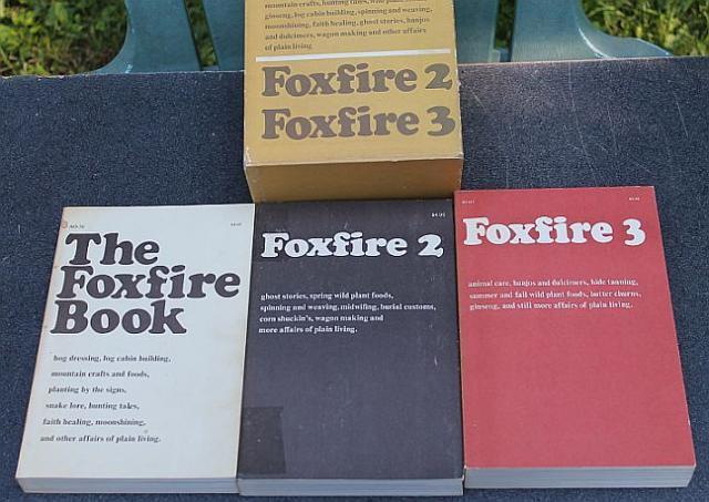 THE FOXFIRE BOOK 2, 3 and 5 , 1973 - 1979~ VINTAGE~~ELLIOTT WIGGINTON~~GOOD COND