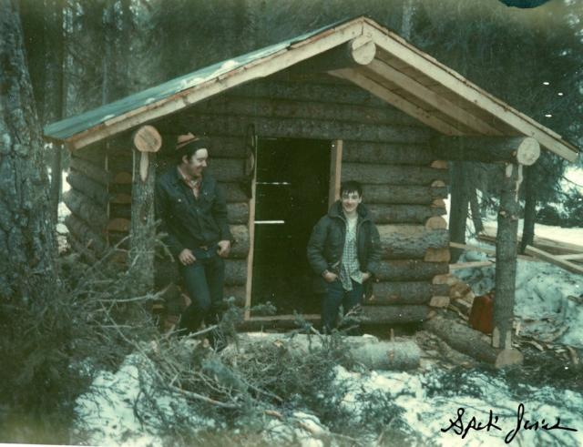 Almighty log cabin building thread wilderness trapping for Building a house in alaska