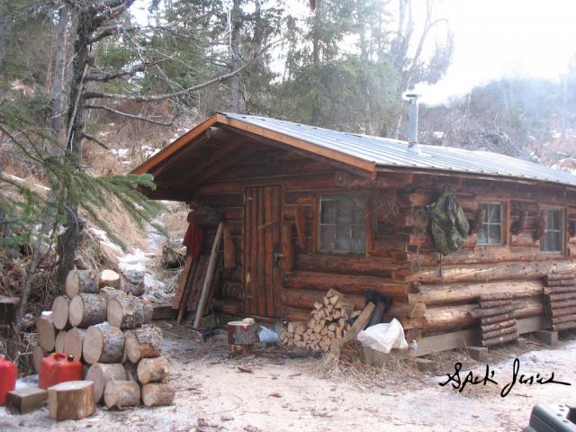 Almighty log cabin building thread trapperman forums for Alaska cottage