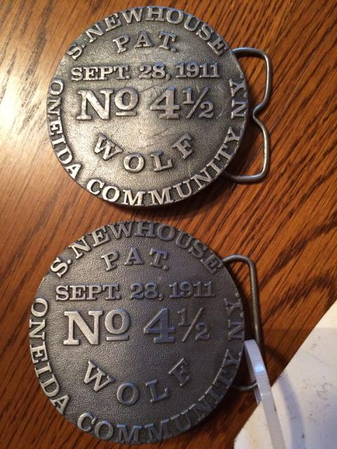 Newhouse wolf trap belt buckles trap shed trapperman for Newhouse sheds