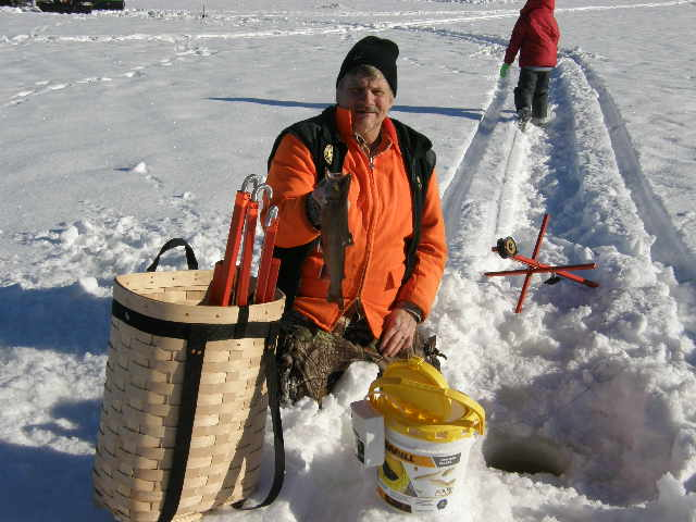 Ice fishing for brook trout today trapper talk for Ice fishing forum